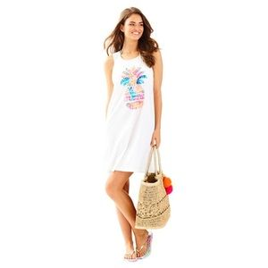 Lilly Pulitzer Multi Pineapple Whitney Cover Up 🍍